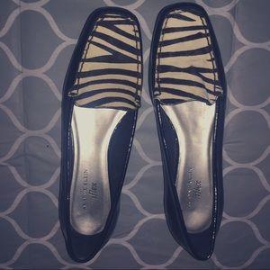 Anne Klein Zebra loafers